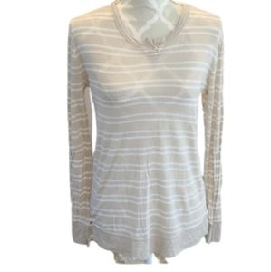 T Alexander wang lined blend stripped long sleeve
